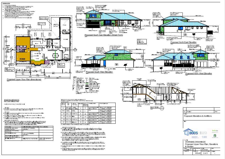 Building Floor Plan Design